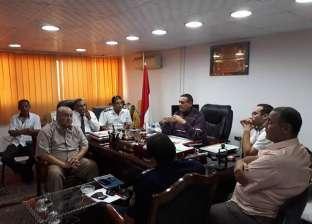 تشكيل 9 مجموعات من مجلس المدينة والدفاع الشعبي لمواجهة السيول بسفاجا