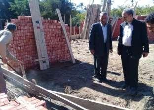 إزالة التعديات على الأراضي الزراعية في كفرالبطيخ
