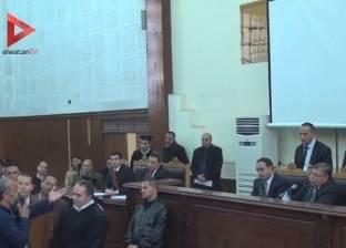 """بدء محاكمة """"بديع"""" و738 في قضية """"فض اعتصام رابعة"""""""