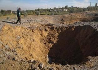 """إسرائيل تقصف منشأة لحماس """"تحت الأرض"""" في غزة"""