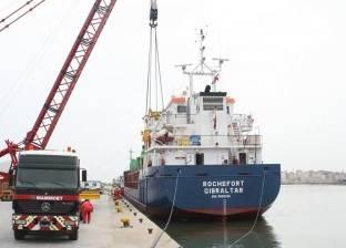 فتح بوغاز ميناء الإسكندرية وانتظام حركة السفن بعد تحسن الحالة الجوية