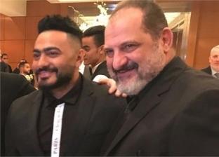 المخرج اللبناني سعيد الماروق ينشر بوستر فيلم الفلوس لـ تامر حسني