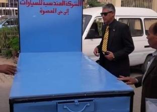 رئيس حي المعصرة: استلام نموذج لعربة الباعة الجائلين لتعميمها بالأسواق