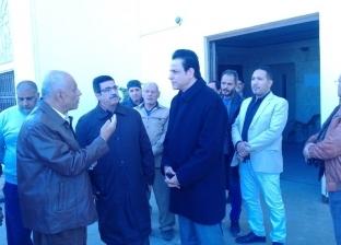"""نائب محافظ القاهرة يزور مقر """"مصر القديمة"""" بعد القبض على رئيس الحي"""