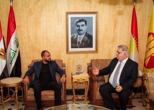 ممثل «الديمقراطى الكردستانى» فى مصر: وجودنا ضمن «عراق موحد» اليوم لمدة «عقد» أفضل بشرط الالتزام بالدستور