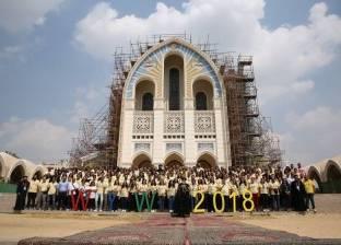 اليوم.. السيسي يستقبل البابا وأعضاء الملتقى العالمي للشباب القبطي