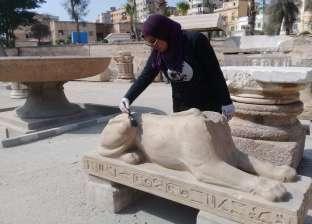 """شباب """"مستقبل وطن"""" ينظفون المواقع الأثرية في الإسكندرية"""