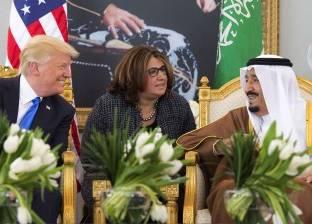 العاهل السعودى يستقبل الرئيس الأمريكى فى قصر اليمامة.. و«السيسى» يلقى كلمة فى قمة الرياض اليوم