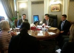 عبدالغفار يبحث مع مسؤول بجامعة أريزونا إنشاء فرع بالعاصمة الإدارية