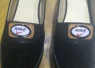 ضبط أحذية تحمل ماركات عالمية مقلدة بباب الشعرية