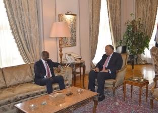وزير الخارجية يستقبل نظيره الرواندي لبحث العلاقات الثنائية والقضايا الأفريقية