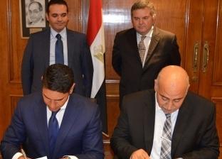 وزير قطاع الأعمال يشهد توقيع عقد بيع الخردة بشركة الحديد والصلب