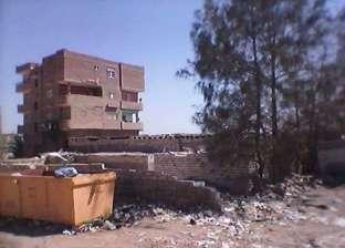 بالصور| حملة نظافة لرفع المخلفات والقمامة من شوارع طامية في الفيوم