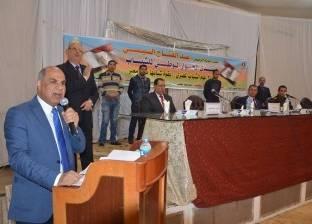 رئيس جامعة كفر الشيخ يكرم الطلاب الفائزين في مسابقة أمن المعلومات