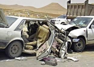 الطرق: 3 وفيات بينهم طفل و33 مصاباً فى حوادث بـ3 محافظات