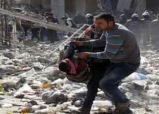 مقتل 25 مدنيا بينهم 5 من الدفاع المدنى جراء قصف وغارات على حلب