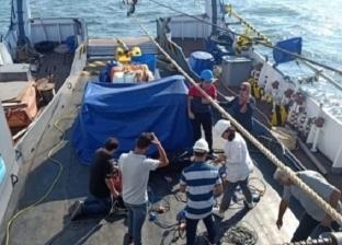 تشغيل تجريبي لـ غواصة طلاب هندسة المنصورة على سفينة «سلسبيل»