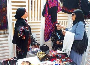 معرض للمشغولات السيناوية في الكويت على هامش الاحتفال بالعيد القومي