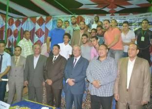 حفل لختام دوري الأحياء الشعبية في المنيا