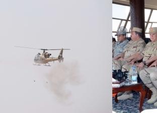 """فيديو  انطلاق فعاليات تدريب """"درع العرب -1"""" بقاعدة محمد نجيب العسكرية"""