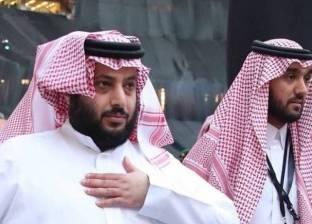 """تركي آل الشيخ بعد هدف وليد سليمان: """"الحمد لله يا رب.. الله"""""""