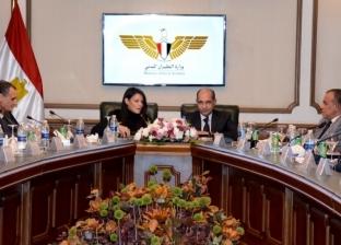 """وزير الطيران يناقش مع """"المشاط"""" برنامج تحفيز الطيران العارض"""