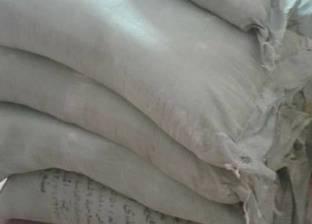 ضبط مدير مخبز تصرف في 3.5 طن دقيق مدعم ببني سويف