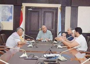 محافظ البحر الأحمر يلتقي رئيس هيئة التنمية الصناعية في الغردقة