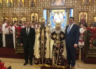 سفير مصر بكندا يشارك في قداس عيد الميلاد في الكنيستين القطبيتين