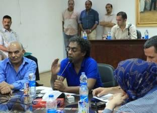 """رئيس """"قصور الثقافة"""" يتفقد قصر منشأة ناصر تمهيدا لإعادة تشغيله"""