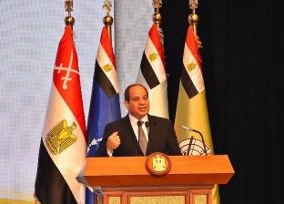 عاجل| السيسي: الشعب المصري رفض في 30 يونيو سيطرة التيارات الدينية