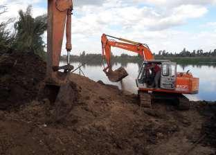 """""""الري"""": 1614 حالة إزالة على نهر النيل"""