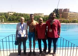 جامعة عين شمس تفوز بذهبيبتن في السباحة خلال أسبوع الشباب الأفريقي