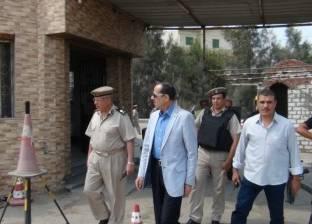 مدير أمن المنوفية يتفقد الأكمنة الأمنية بمركز السادات