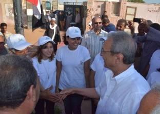 """محافظ المنيا يدعم مبادرة شبابية بعنوان """"من أجل بيئة نظيفة"""""""