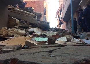 """""""التضامن"""": ارتفاع أعداد الأسر المتضررة من سقوط صخرة منشية ناصر لـ82"""