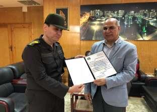 المنطقة الشمالية العسكرية تكرم رئيس جامعة كفر الشيخ لموقفه بالانتخابات