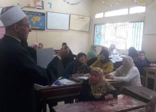رئيس قطاع المعاهد الأزهرية يتفقد امتحانات الشفوي لشهادات التجويد
