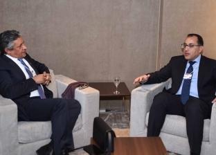 بالصور| مدبولي يلتقي وزير التخطيط السعودي لدفع الاستثمار في مصر