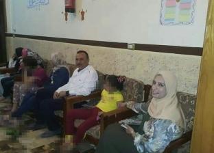وكيل وزارة التضامن بدمياط يزور الأيتام بمناسبة عيد الفطر