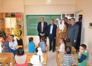 توزيع مساعدات على 450 أسرة بسوهاج