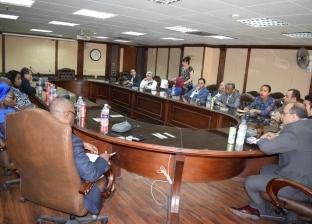 """رئيس لجنة تدريب """"الأعلى للإعلام"""" يلتقي ممثلي السفارات الإفريقية"""