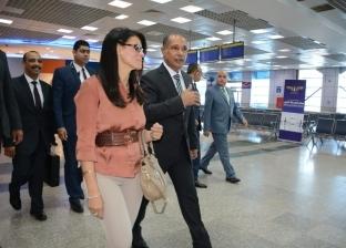 وزير الطيران يتفقد أعمال التطوير في مطار شرم الشيخ الدولي