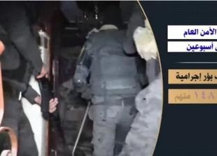 فيديو| جهود الحملات الأمنية خلال أسبوعين.. ضبط مئات الأسلحة والذخائر