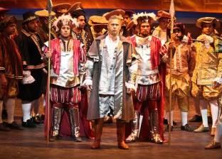 """عرض """"أوبرا ريجوليتو"""" في دار الأوبرا على المسرح الكبير"""