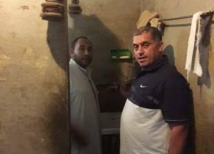 إعادة توصيل المياه لقرية عثمان رمزي بالدقهلية