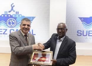 """هيئة قناة السويس تستقبل وفد رفيع المستوى من جمهورية """"جيبوتي"""""""