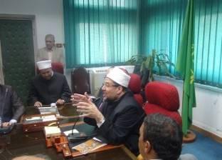 """""""أوقاف الأقصر"""" تمنع خطيب مسجد من الخطابة لنشره أفكارا متطرفة"""