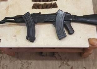 ضبط سلاح ٱلي مسروق من مركز أبو حمص في أسيوط