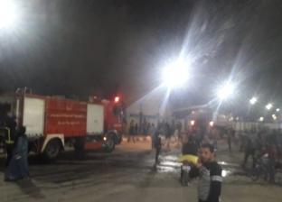"""""""الحماية المدنية"""" تسيطر على حريق بمنطقة المحطة الجديدة بالإسماعيلية"""